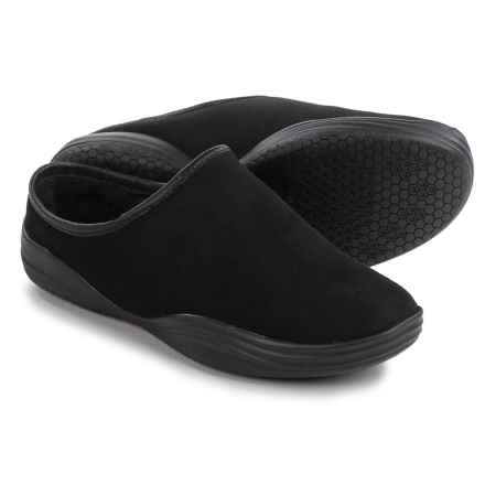 Bionica Stamford Shearling Clogs - Slip-Ons (For Women) in Black - Closeouts
