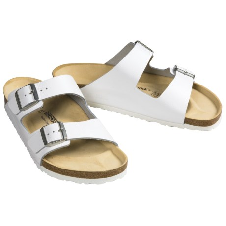 Birkenstock Arizona Sandals (For Men and Women) in White