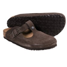 Birkenstock Bern Clogs - Leather (For Women) in Java Nubuck - Closeouts