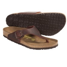 Birkenstock Como Sandals (For Men and Women) in Henna Oiled Leather - Closeouts