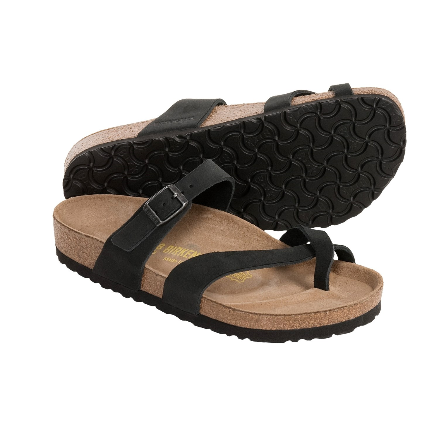 Elegant Birkenstock Sandals Florida From BirkoFlor In Black With A Regular Insole