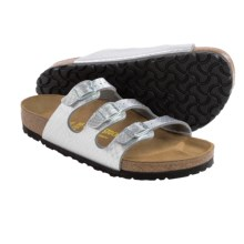 Birkenstock Florida Sandals - Birko-flor® (For Women) in Silver - Closeouts