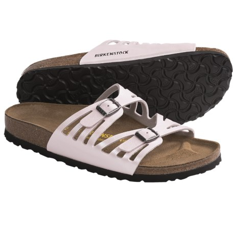 Birkenstock Granada Sandals - Birko-flor® (For Women) in Graceful Rosa