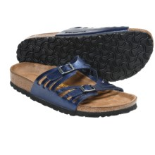 Birkenstock Granada Sandals - Birko-flor® (For Women) in Insignia Blue - Closeouts