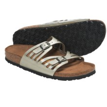 Birkenstock Granada Sandals - Birko-flor® (For Women) in Titanium - Closeouts