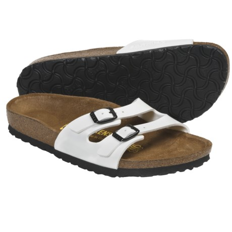 Birkenstock Ibiza Birko-flor® Sandals (For Women) in White Patent