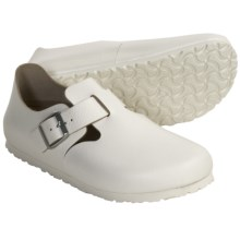 Birkenstock London Nubuck Shoes (For Men and Women) in White - Closeouts