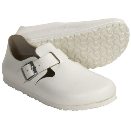 Birkenstock London Shoes (For Men and Women) in White