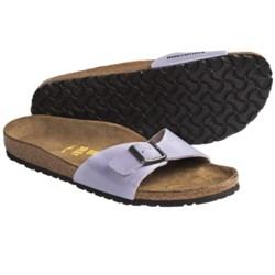 Birkenstock Madrid Sandals - Birko-Flor® (For Women) in Green Patent
