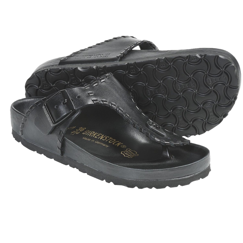 Birkenstock Men Plastic Leather Sandals For Men