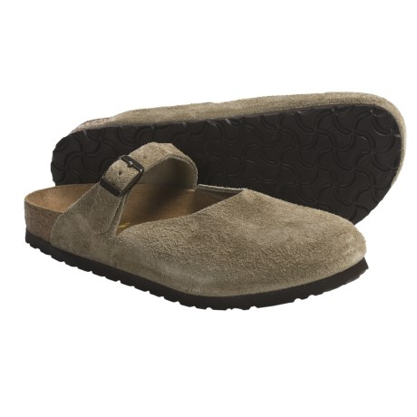 Birkenstock Rosemead Mary Jane Shoes - Leather (For Women) in Taupe Suede