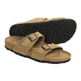 Birkenstock Sydney Sandals - Nubuck (For Women) in Antique Khaki