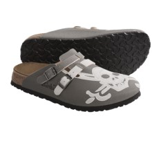 Birki's by Birkenstock Camden Clogs - Birko-flor® (For Men and Women) in Skull Grey - Closeouts