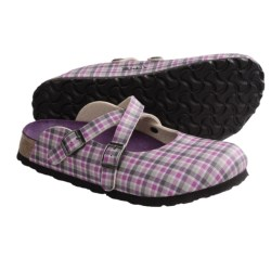 Birki's by Birkenstock Dorian Clogs - Printed Birko-flor® (For Women) in New Passion Black