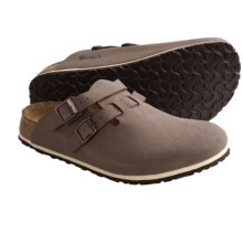 Birki's by Birkenstock Kay Clogs - Birkibuc (For Men and Women) in Mocha - Closeouts