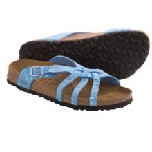 Birki's by Birkenstock Mahe Glitter Sandals - Birko-flor® (For Women) in Blue - Closeouts
