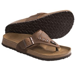 Birki's by Birkenstock Marten Arunta Sandals - Leather (For Men and Women) in Brown