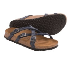 Birki's by Birkenstock Samui Brights Sandals - Birko-flor® (For Women) in Navy - Closeouts