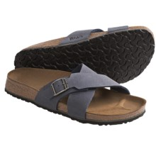 Birki's by Birkenstock Santosa Sandals - Birko-flor® (For Men) in Navy - Closeouts