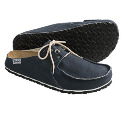 Birki's by Birkenstock Super Skipper Clogs - Canvas (For Men) in Black