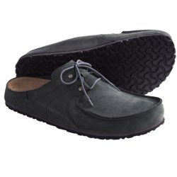 Birki's by Birkenstock Super Skipper Clogs - Nubuck (For Men) in Dark Brown