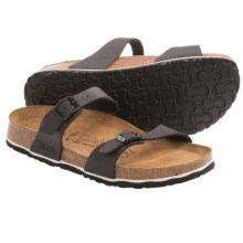 Birki's by Birkenstock Tahiti Drops Sandals - Birko-flor®, Soft Footbed (For Women) in Black - Closeouts