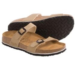 Birki's by Birkenstock Tahiti Drops Sandals - Birko-flor®, Soft Footbed (For Women) in Bronze