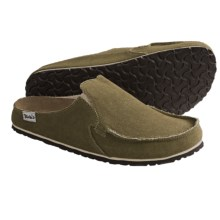 Birki's by Birkenstock Classic Skipper Clogs - Canvas (For Men and Women) in Khaki - Closeouts