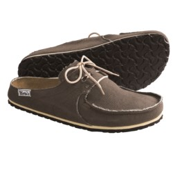 Birki's by Birkenstock Super Skipper Clogs - Canvas (For Men and Women) in Crème