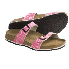 Birki's by Birkenstock Tahiti Soft Sandals - Birko-flor® 3D (For Women) in Pink - Closeouts