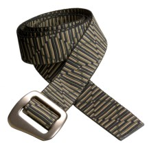 Bison Designs 30 mm Web Belt with Millenium Buckle (For Men and Women) in Hong Kong - Closeouts