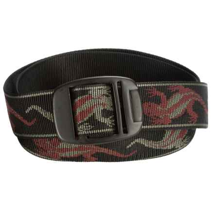 Bison Designs BDB Belt (For Men and Women) in Geko Nights - Closeouts