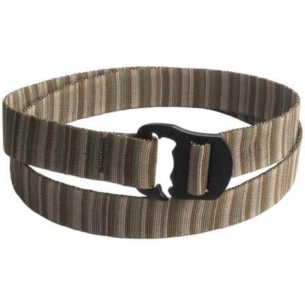 Bison Designs Black Decapinator Belt (For Men and Women) in Sandstorm - Closeouts