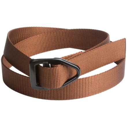 Bison Designs Black Viper Mesquite 30mm Belt (For Men and Women) in Honey Brown - Closeouts