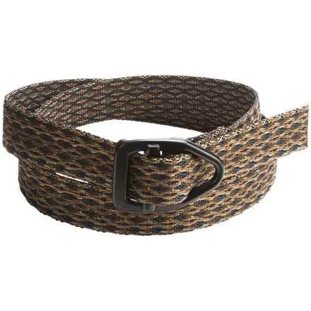 Bison Designs Black Viper Mohave 30mm Belt (For Men and Women) in Olive/Brown Multi - Closeouts