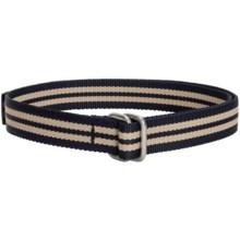 Bison Designs D-Ring Buckle Web Belt - 32mm (For Men and Women)