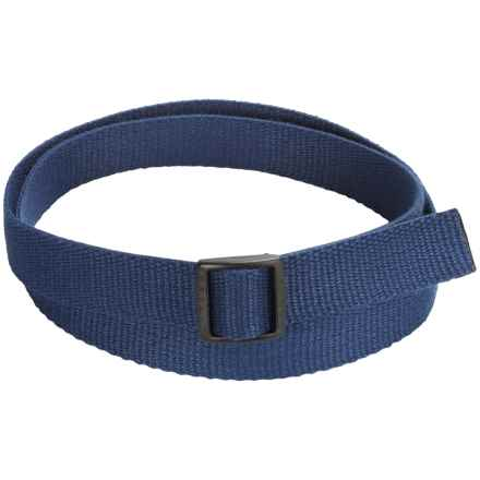 Bison Designs Eco Slider Belt - 25mm (For Men and Women) in Blue - Closeouts