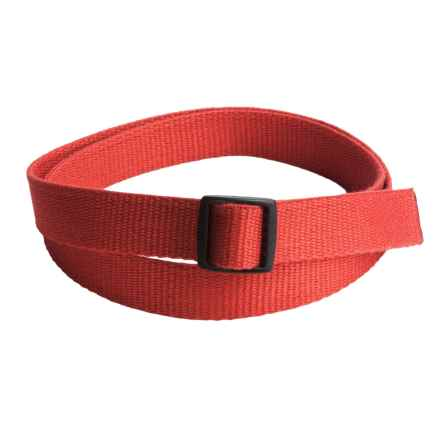 Bison Designs Eco Slider Belt - 25mm (For Men and Women) in Salmon - Closeouts