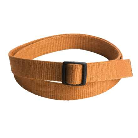 Bison Designs Eco Slider Belt - 25mm (For Men) in Gold - Closeouts