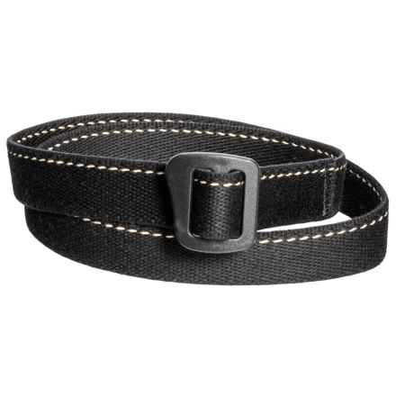 Bison Designs ECO Webbed Belt - 30mm (For Men and Women) in Soy Black - Closeouts