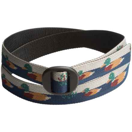 Bison Designs Ellipse Duck Pond Belt (For Men and Women) in Multi - Closeouts
