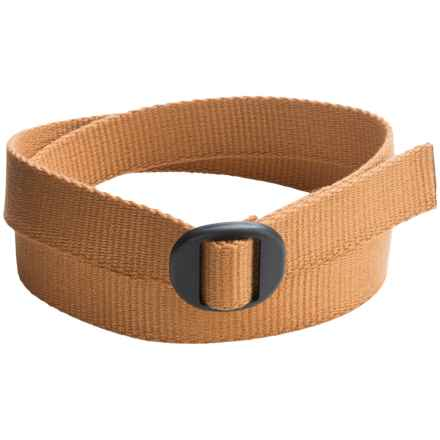 Bison Designs Ellipse Eco 30mm Belt (For Men and Women) in Gold - Closeouts