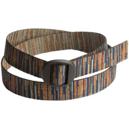 Bison Designs Ellipse Random Reed 30mm Belt (For Men and Women) in Multi - Closeouts