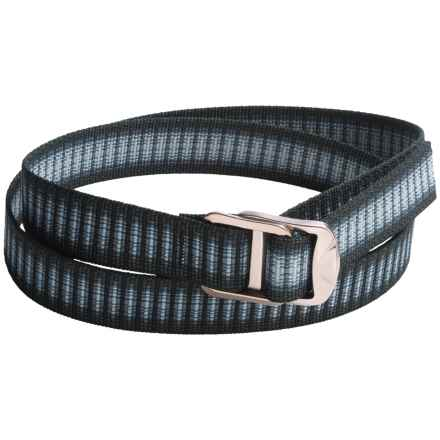Bison Designs Gunmetal Decapinator Belt - Nylon (For Men and Women) in Charcoal Chips - Closeouts