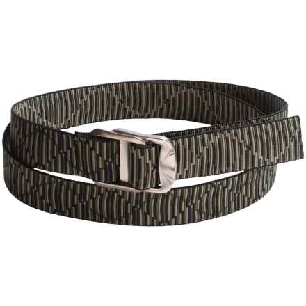Bison Designs Gunmetal Decapinator Belt - Nylon (For Men) in Hong Kong - Closeouts