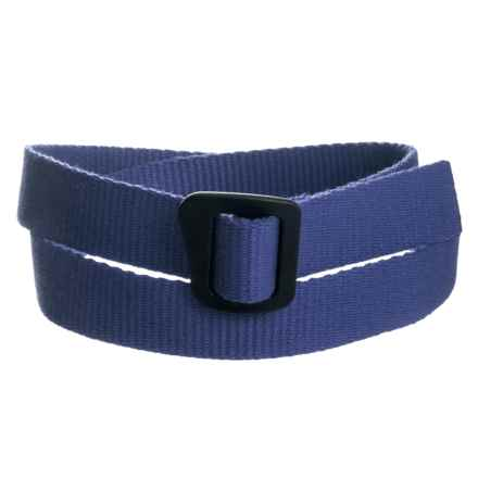 Bison Designs Ingeo Millennium Webbing Belt (For Men and Women) in Dark Blue - Closeouts