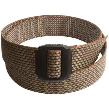 Bison Designs Jag Belt (For Men and Women) in Brickyard - Closeouts