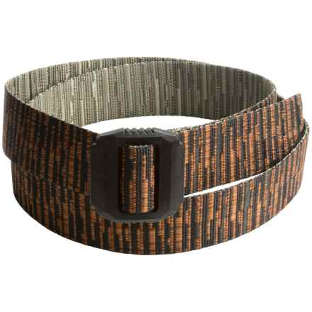 Bison Designs Jag Belt (For Men and Women) in Dark Woods - Closeouts