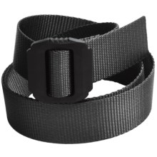 Bison Designs Jag Belt (For Men and Women) in Rugged Black - Closeouts
