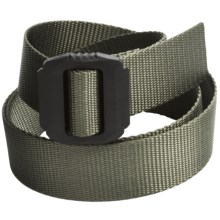 Bison Designs Jag Belt (For Men and Women) in Rugged Olive - Closeouts